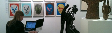 reartiste at the Armory Show 2013