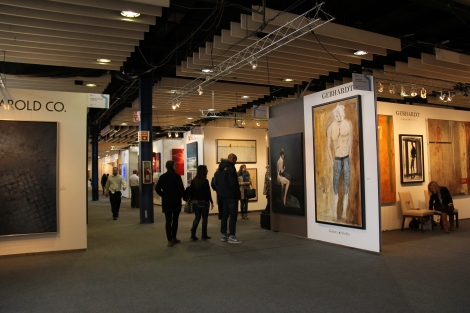 re:artiste visits Art Expo