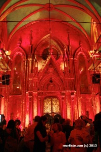 At the Opening Event  Angel Orensanz Foundation  for Arts