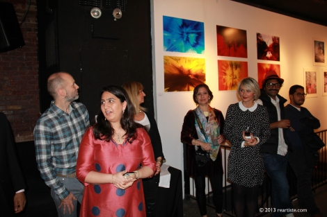 Shruti Kapoor presenting her artwork