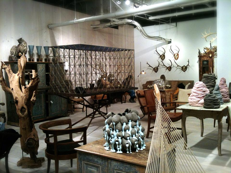 a paradise of objects at collective design fair re. Black Bedroom Furniture Sets. Home Design Ideas