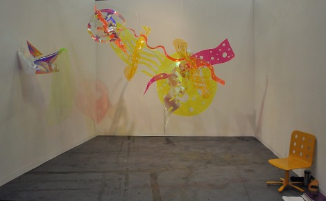 "Berta Fischer, ""Toylim"", 2014. Plexiglass. The James Fuentes gallery."