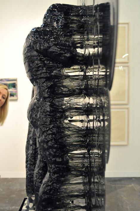 Sculpture by Nick Van Woert. Gallery Grimm, Amsterdam.