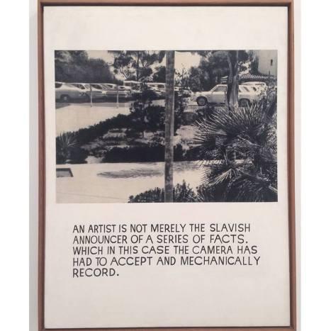 Artwork by John Baldessari at the new Whitney.