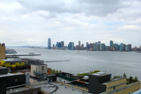 One of the magnificent views from the Whitney Museum.