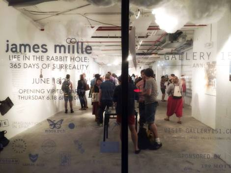 Welcome to the Rabbit Hole of James Miille!