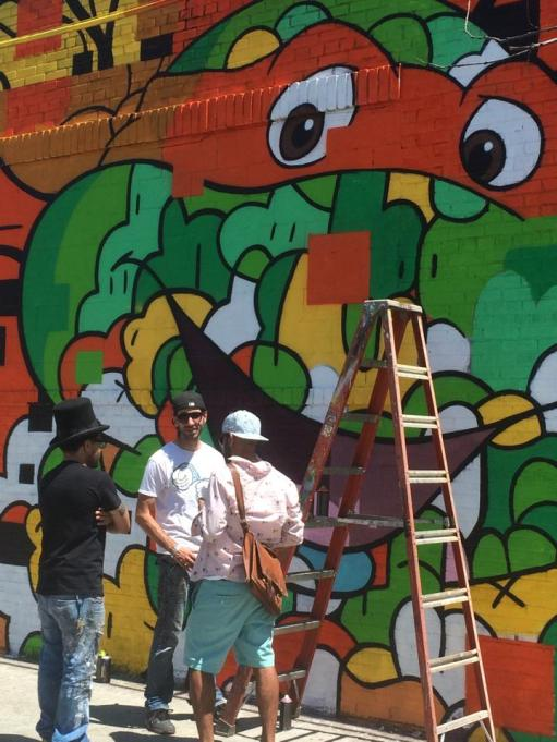 The artists. Bushwick, NYC
