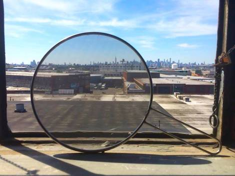 The view from Lawrence Kenny's studio, Bushwick