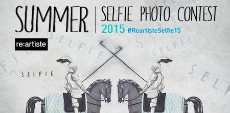 RE:ARTISTE's Summer Selfie photo contest. #ReartisteSelfie15