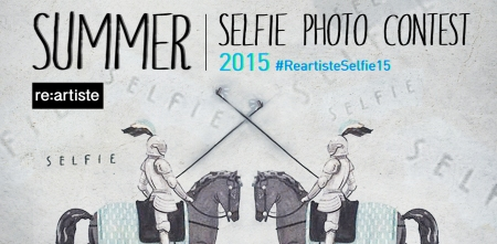 RE:ARTISTE's Summer Selfie photo contest. #ReartisteSelfie15