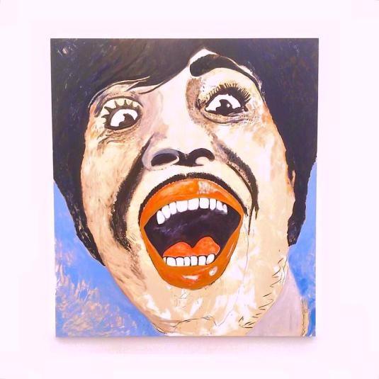 Are you being heard? *Artwork: Little Richard, by Jack Pierson