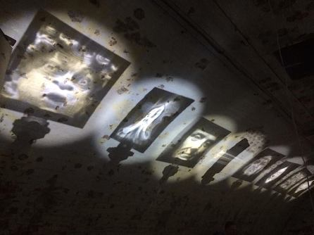 "Multi-media artwork, ""Calculated Deception"", exhibited by Zintaglio Arts"