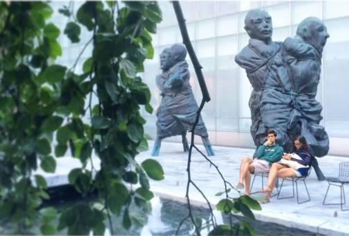 MoMA Garden, September.